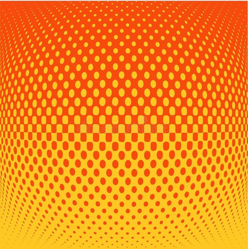 Retro dots vector illustration