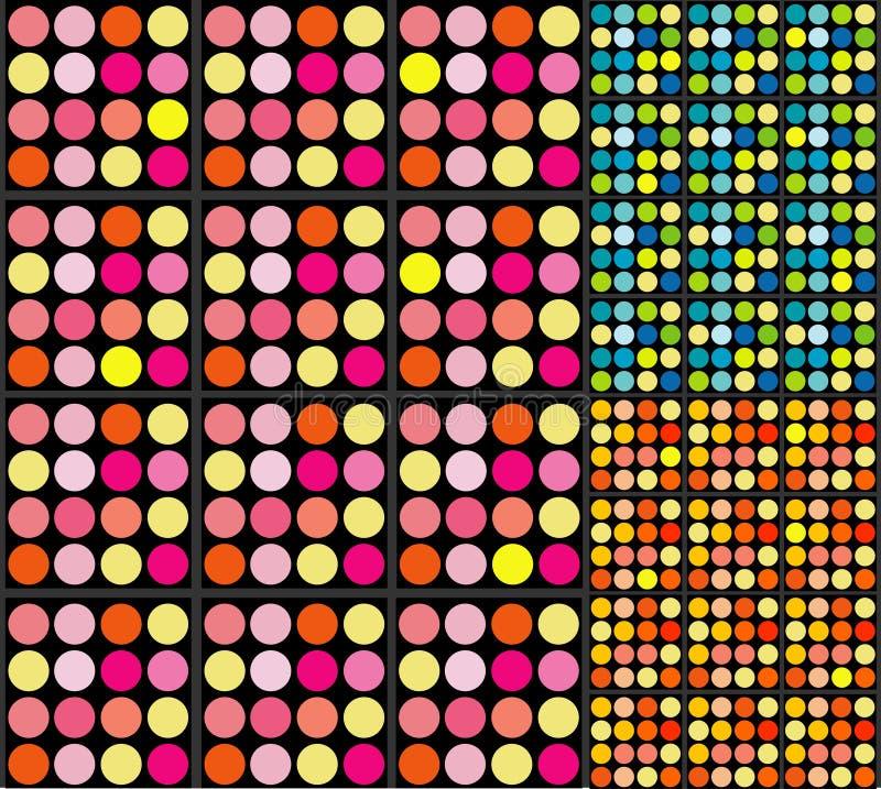 Retro Dots Background royalty free stock image