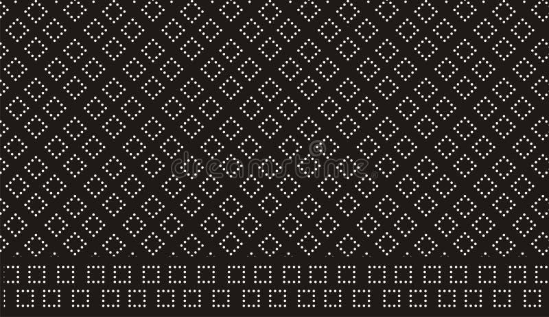 Retro dots pattern stock photography