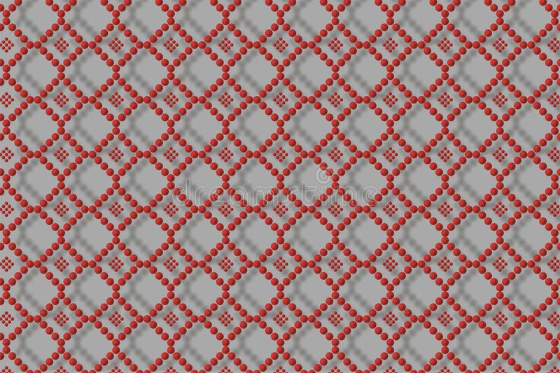 Retro dots pattern royalty free stock images