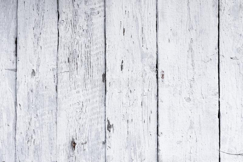 Retro drewniany ścienny wybielania wapno, nowożytny styl, wietrzejący cracky upaćkany drewniany tło, rocznika tło dla projekta obrazy stock