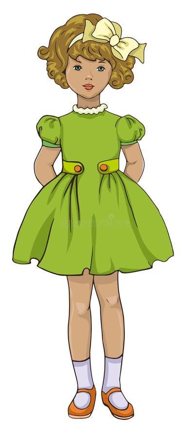 Retro dzieciaki royalty ilustracja