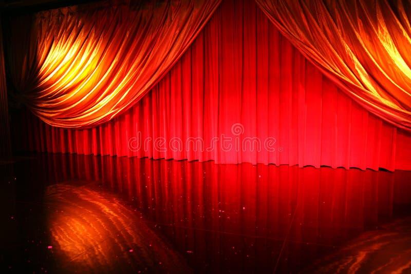 Retro elegant theater stock afbeeldingen