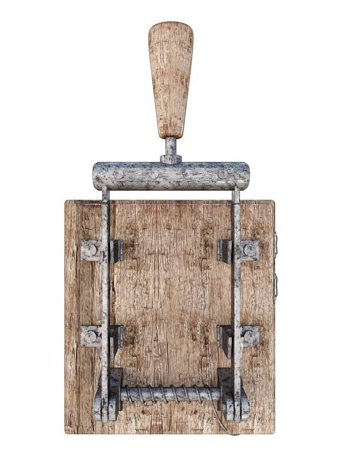 Retro- Elektrischer Schalter Stock Abbildung - Illustration von ...