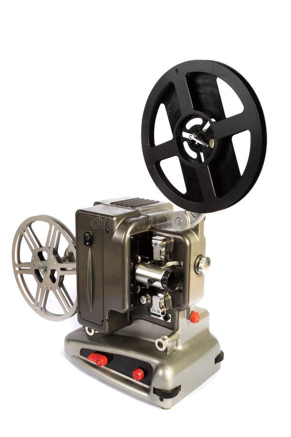 Retro eller för tappning för hem- film projektor arkivbild