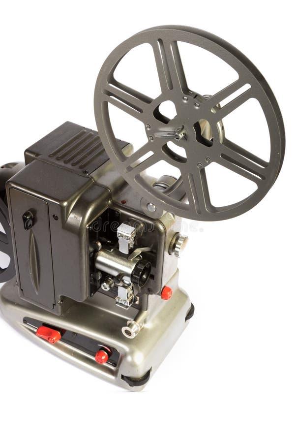 Retro eller för tappning för hem- film projektor royaltyfri fotografi