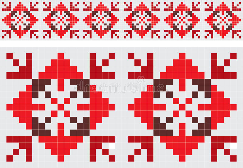 Download Retro Fabric Ornament Royalty Free Stock Photography - Image: 6360057