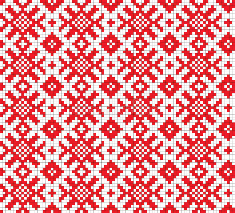 Download Retro fabric ornament stock vector. Illustration of ethnicity - 6360146
