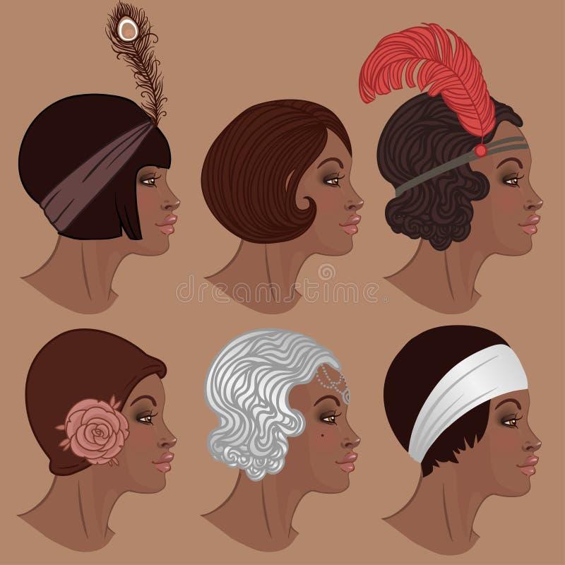 Free Retro Fashion: Glamour Girl Of Twenties (African American Woman) Stock Photos - 93026403