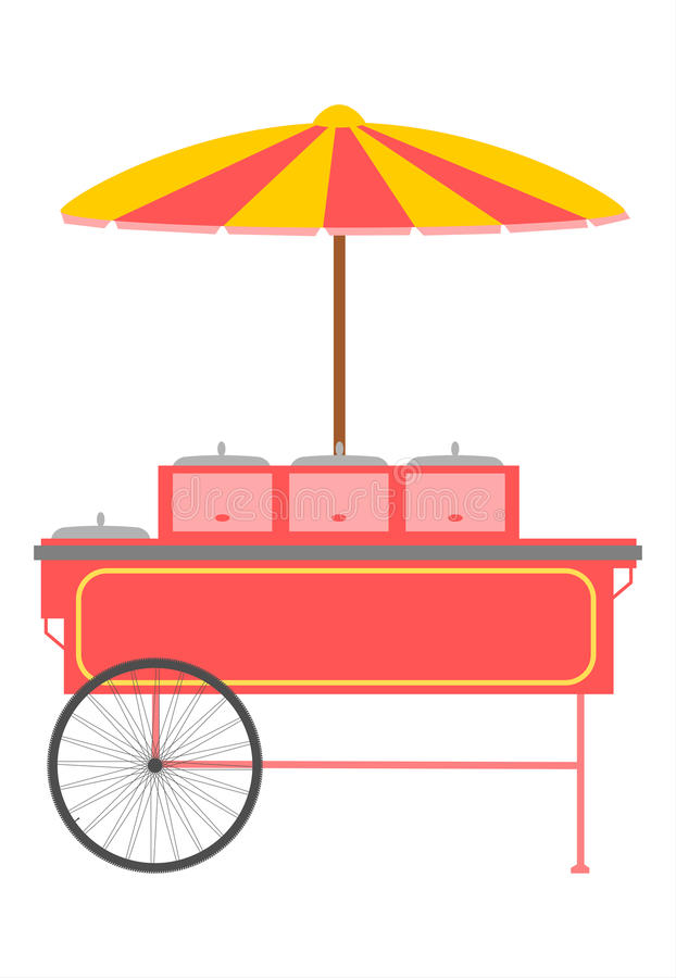 Download Fast food trolley. stock photo. Image of product, consumer - 29970476