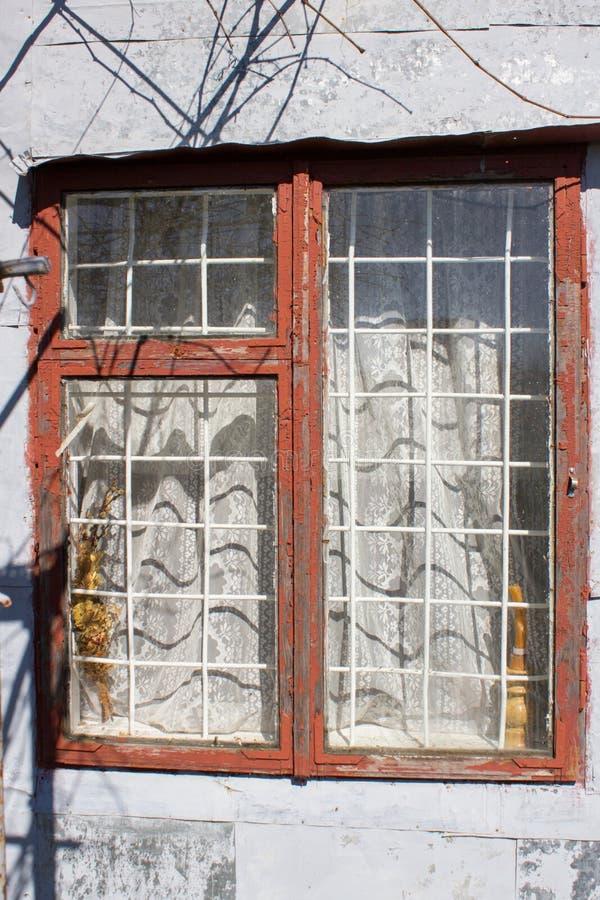 Retro- Fenster stockfotografie