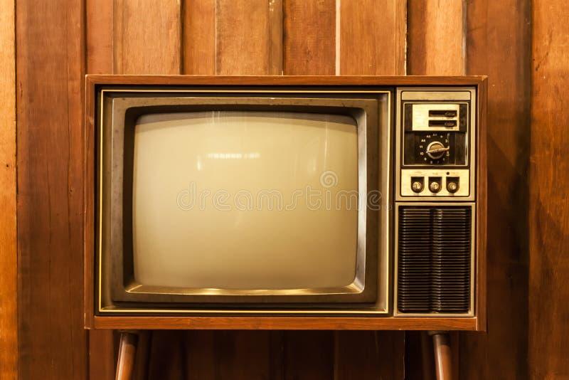 Retro- Fernsehen stockfoto