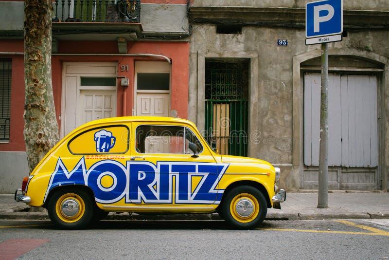 Retro Fiat zdjęcie stock
