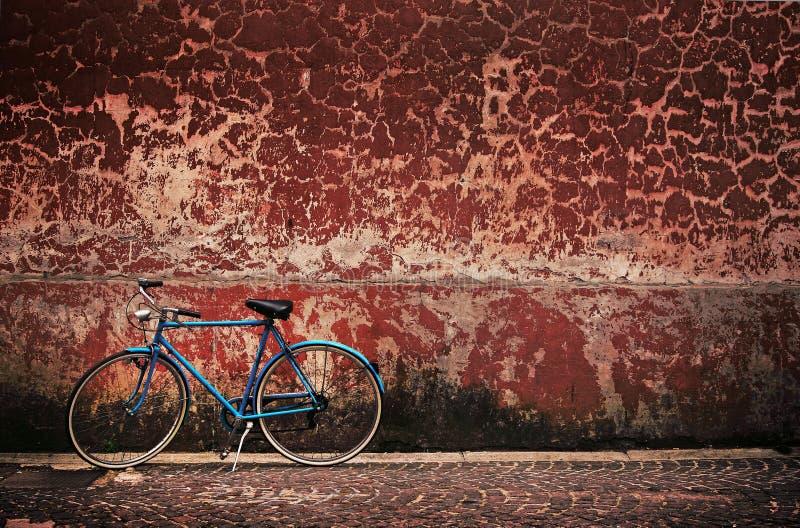 Retro fiets royalty-vrije stock foto