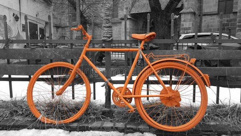 Retro fiets stock foto's