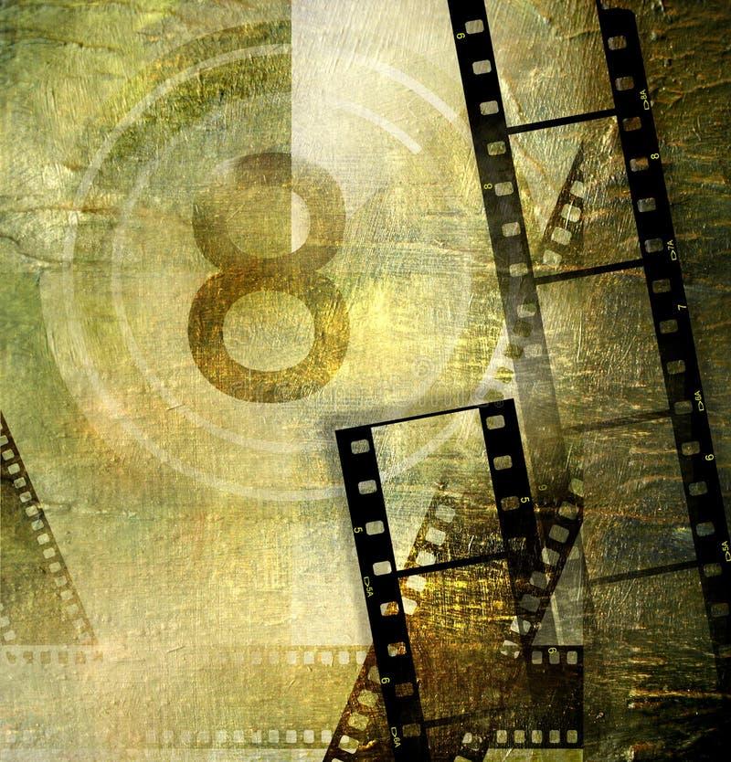 Retro- Film lizenzfreie abbildung
