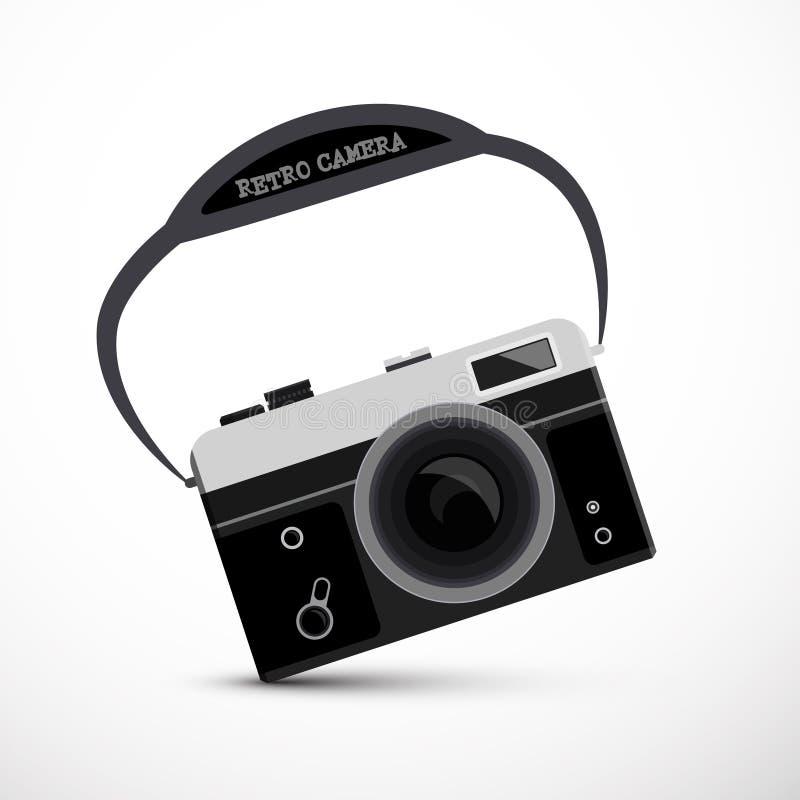 Retro- Film oder Digitalkamera vektor abbildung