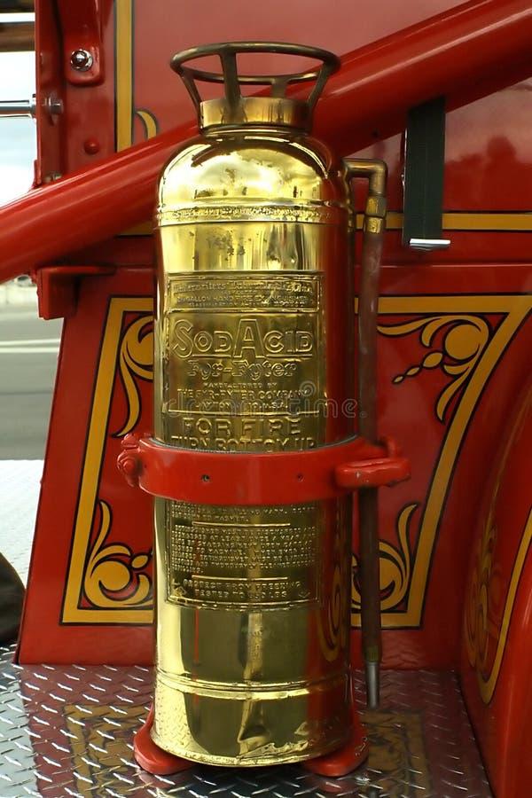 Retro Fire Extinguisher stock photo