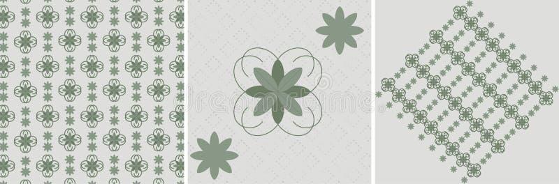 Retro floral stock image