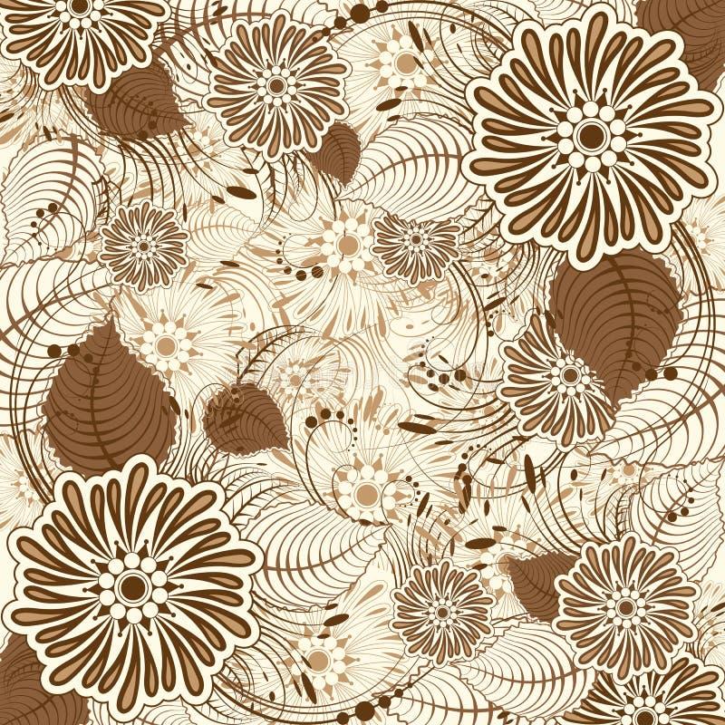 Download Retro Floral Background stock vector. Illustration of bloom - 22266008