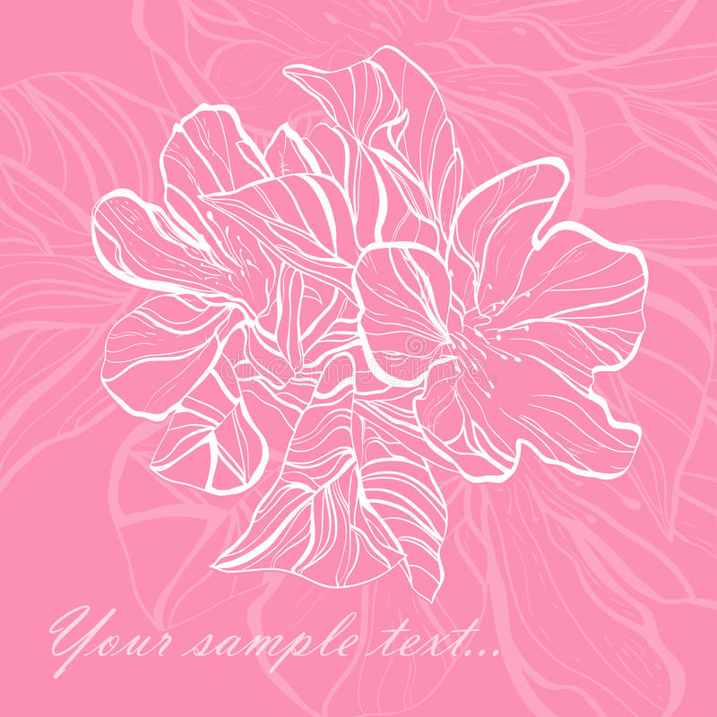 Download Retro floral background stock vector. Image of floral - 23729723