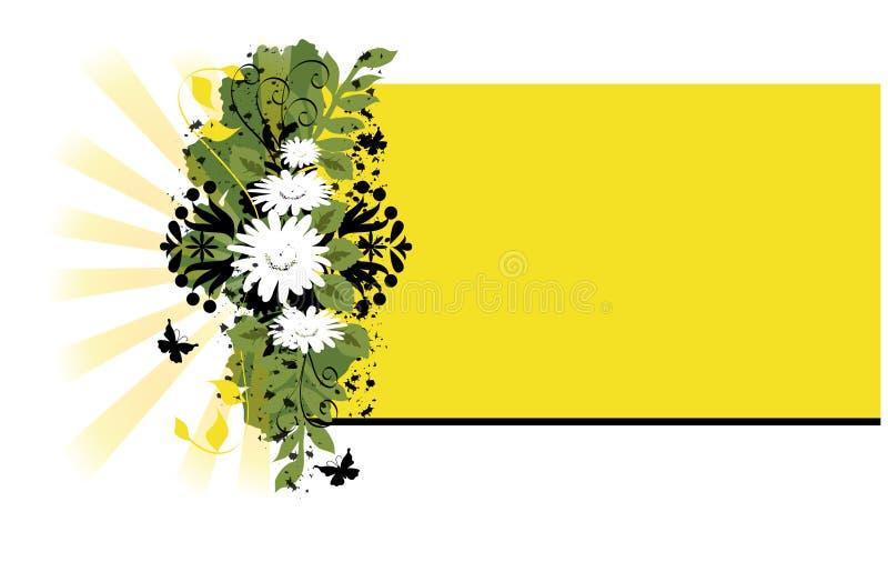 Retro Flower Background vector illustration