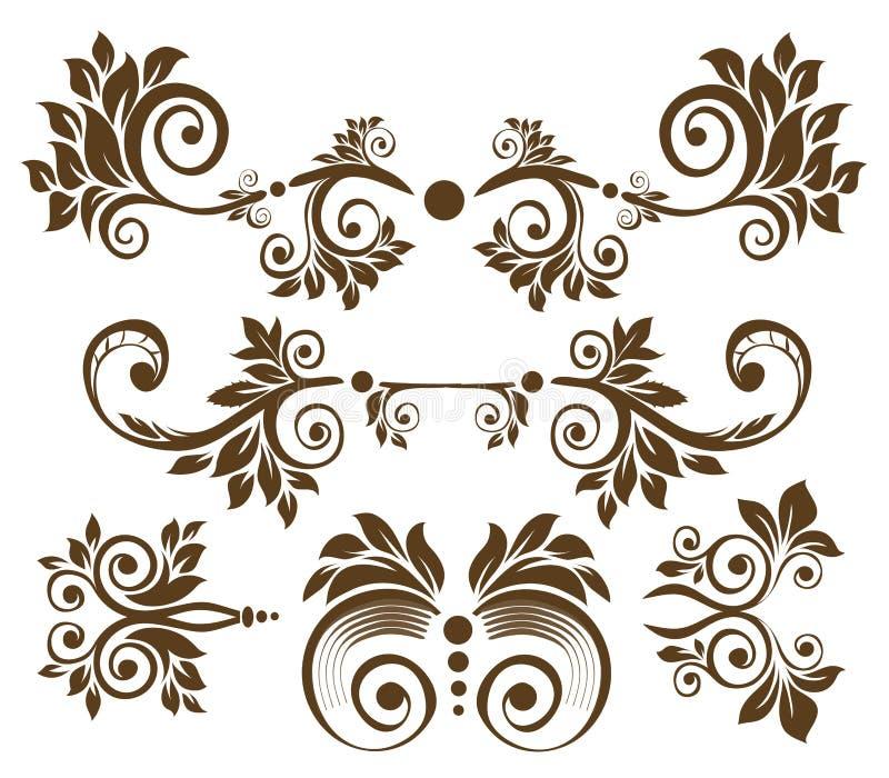 Download Retro flower pattern stock illustration. Image of design - 13414625
