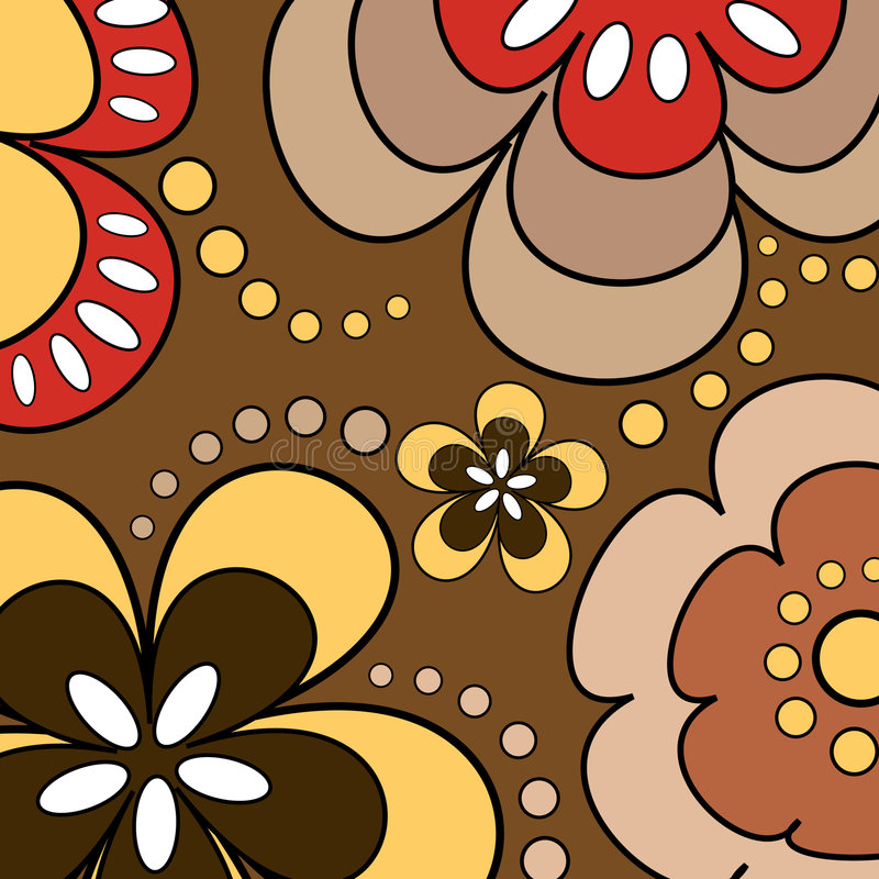 Download Retro Flowers Stock Images - Image: 511054