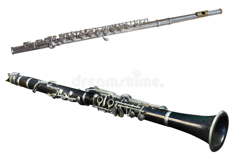 Retro Flute Royalty Free Stock Photography