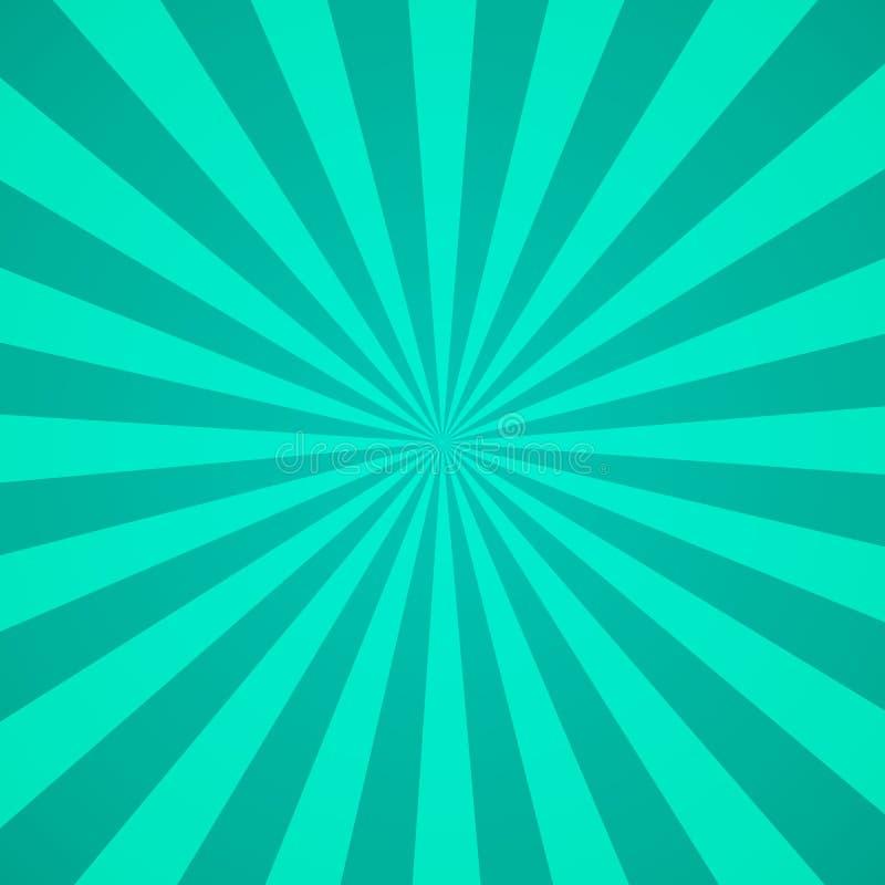 Retro fondo di alba radiale Modello con i raggi, spirale astratta, vettore eps10 dello sprazzo di sole dello starburst illustrazione vettoriale