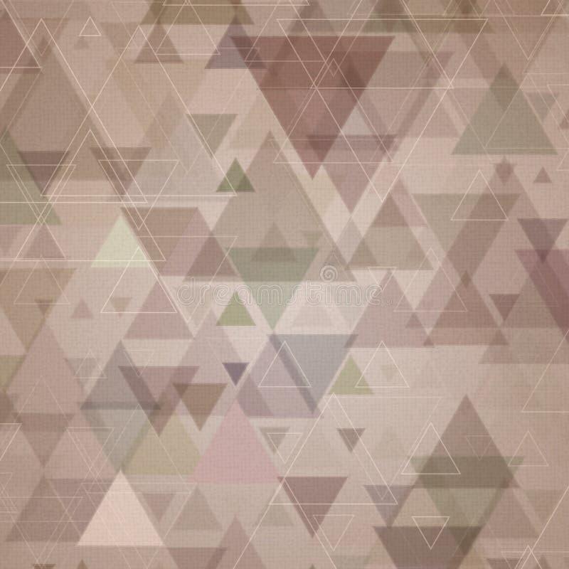 Retro fondo di progettazione di lerciume illustrazione vettoriale