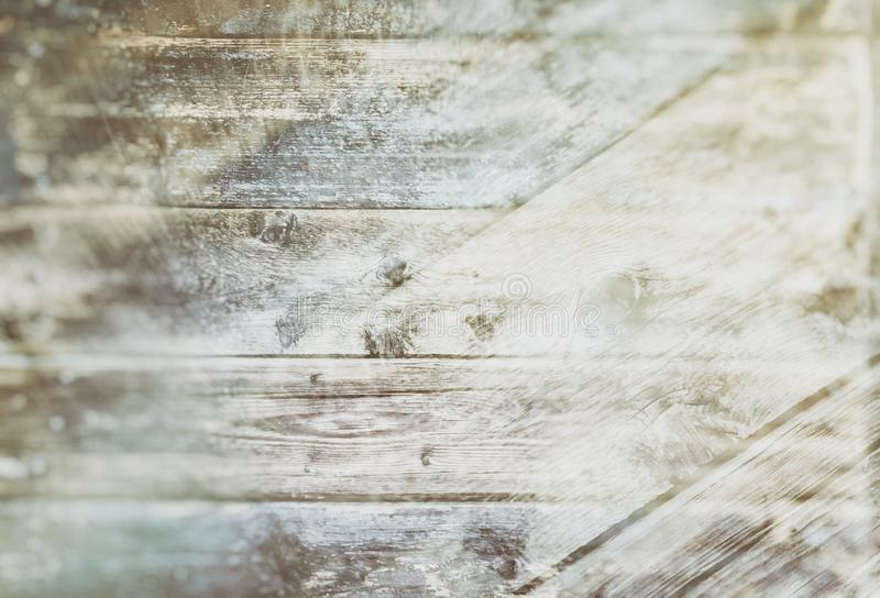 Retro fondo o struttura di stile nella doppia esposizione dei bordi bruciati anziani immagini stock libere da diritti