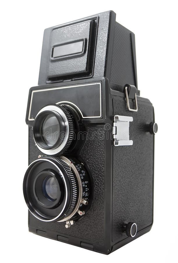 Retro fotocamera stock afbeeldingen