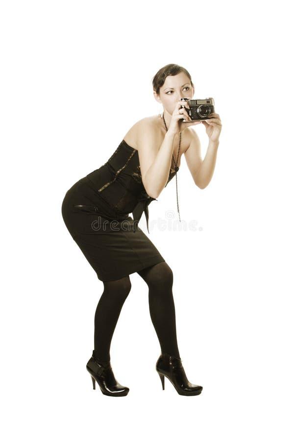 Retro- Fotographie stockfotografie