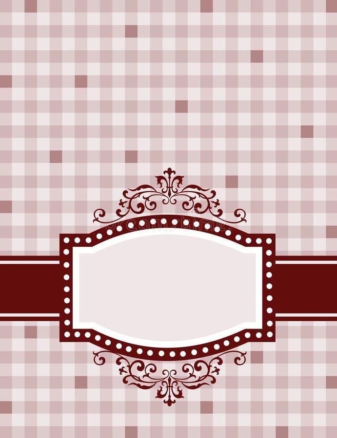 Retro frame / background