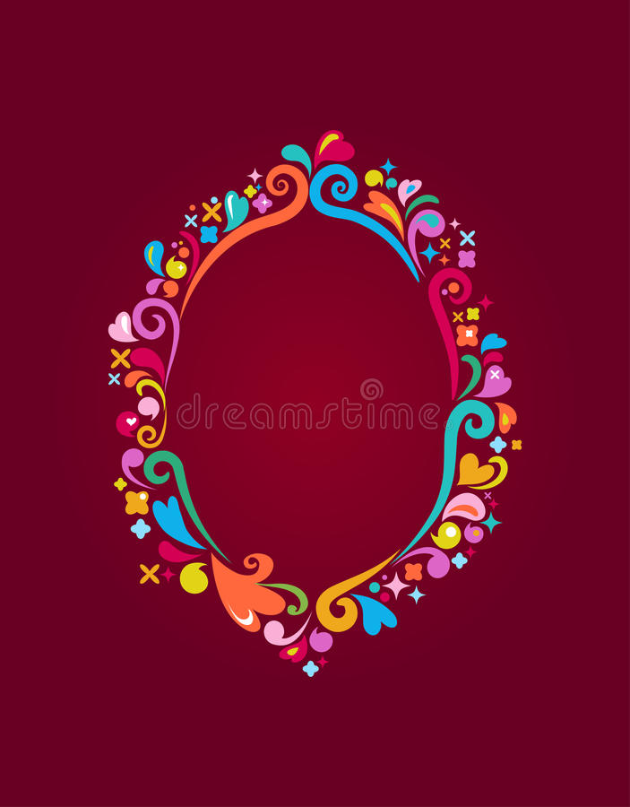 Download Retro frame vector design stock vector. Illustration of abstract - 12543415