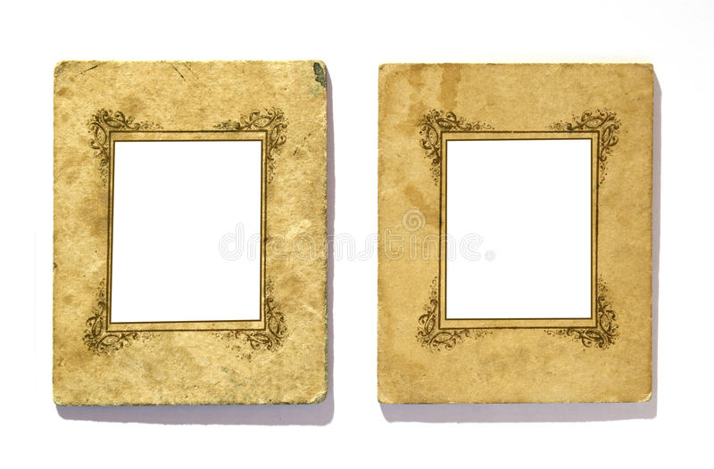 Retro frames royalty free stock photo