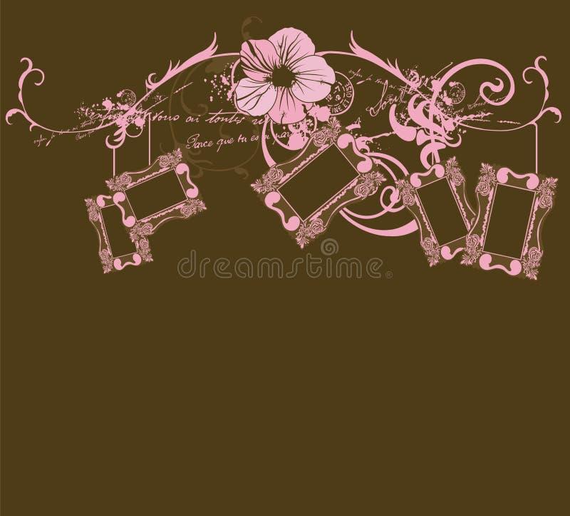 Download Retro frames stock vector. Image of creative, design, frames - 8719436