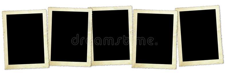 Retro Frames van de Foto royalty-vrije stock fotografie