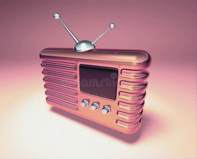 Retro- Funk stockbild
