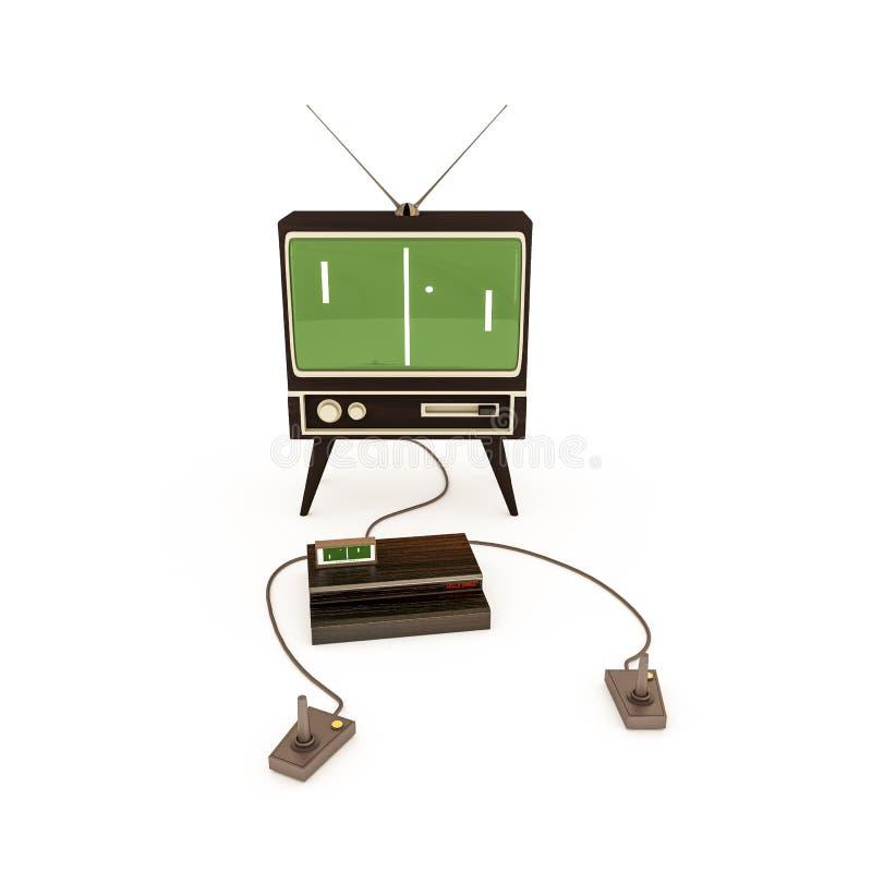 Download Retro game stock illustration. Illustration of computer - 41911991