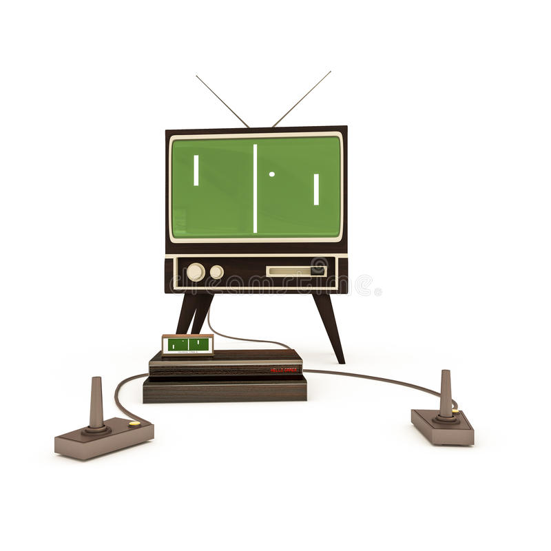Download Retro game stock illustration. Image of illustration - 41912013