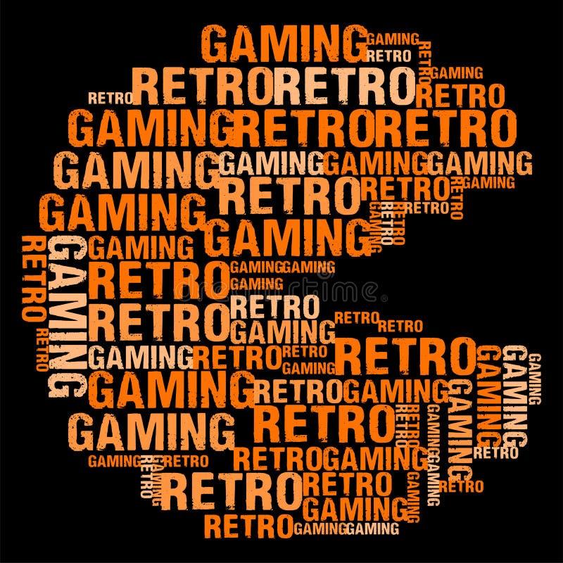 Retro Gaming stock illustration