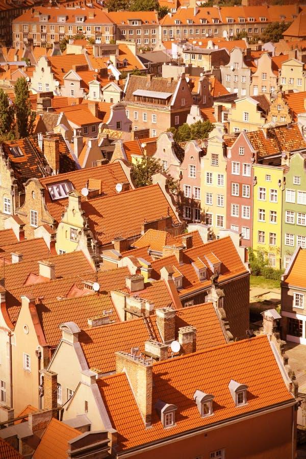Retro Gdansk Stock Photo