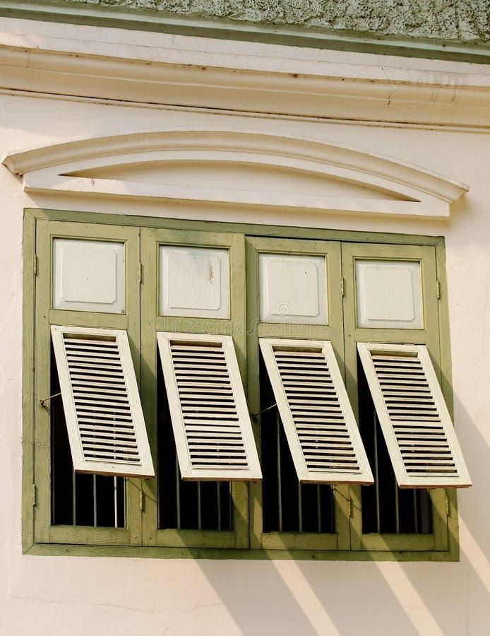 Retro- Gebäude stockfotografie