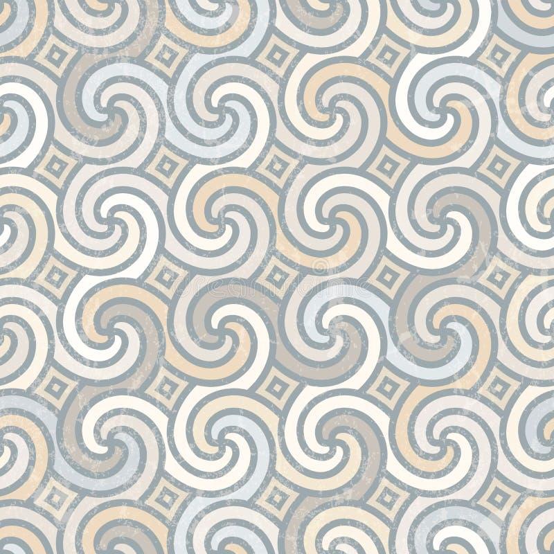 Retro geometric pattern. vector illustration