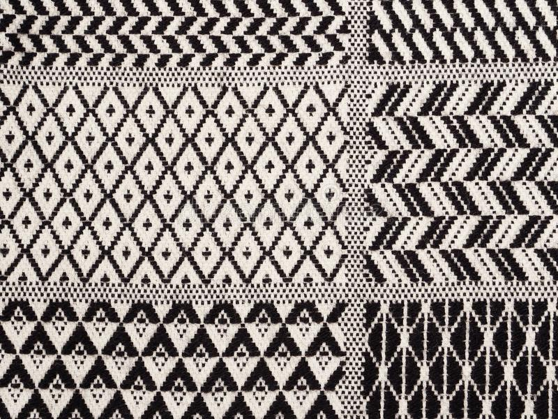 Retro geometric textile pattern royalty free stock photography