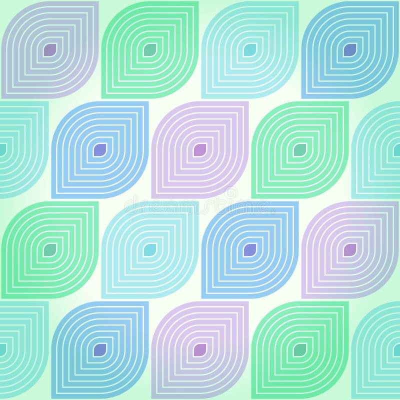 Retro geometryczny tło ilustracji