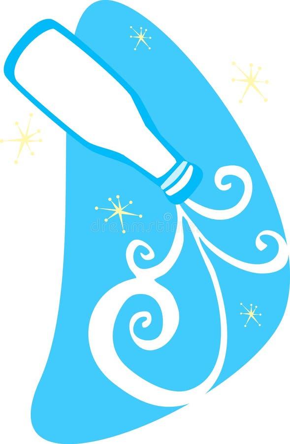 Download Retro Gietende Melk vector illustratie. Illustratie bestaande uit retro - 10778770
