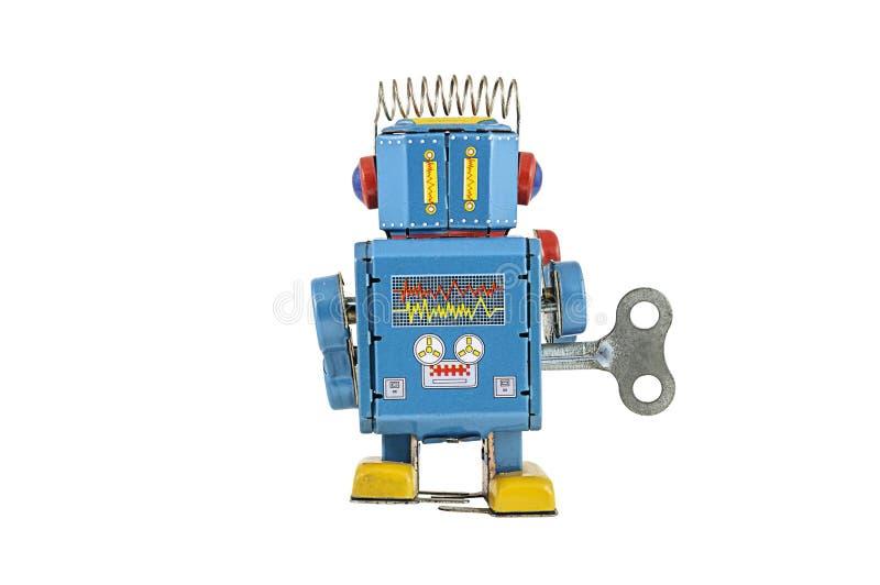Download Retro Giocattoli Del Robot Isolati Immagine Stock - Immagine di remote, isolato: 30828753